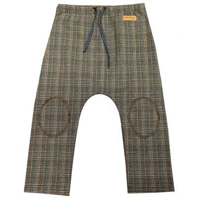 Little tartan pants with kneepads