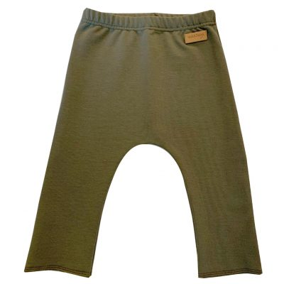 Army green baggy loungers