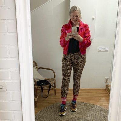 Leopard legging women